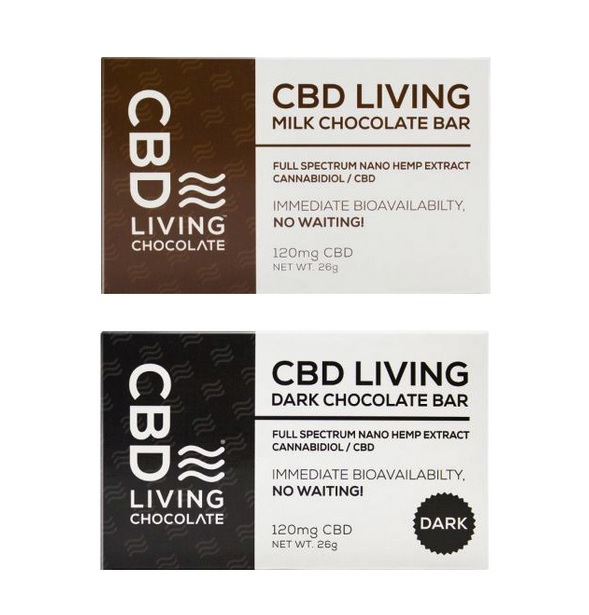 Buy CBD Living Chocolate Bars SA