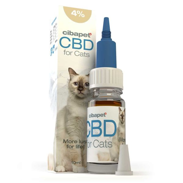 Cibapet CBD oil 4% for cats ZA (10ml)