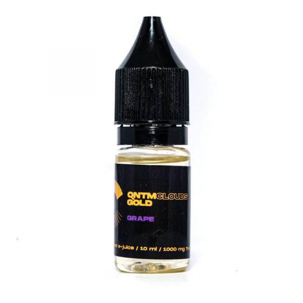 Clouds Gold THC Vape Liquid Grape ZA
