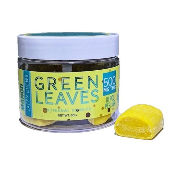 Green Leaves Mango Taffy Chews ZA