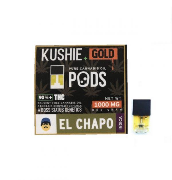 Kushie Gold Super High Potency JUUL Pods ZA