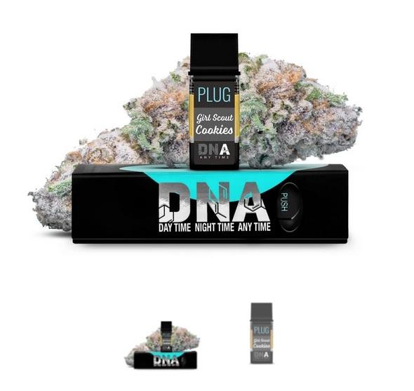 PLUGPlay DNA Girl Scout Cookies Vape 1G Cartridge ZA