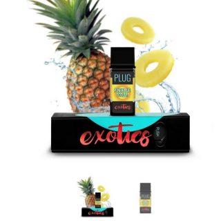 PLUGPlay Exotics Pineapple Cooler Vape Cartridge ZA
