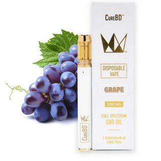 West Coast Grape Cure CureBD Disposable Vape ZA